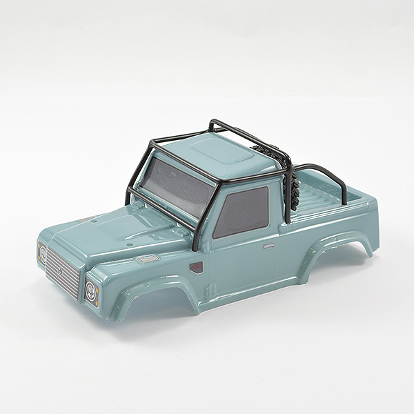 FTX MINI OUTBACK 2.0 RANGER BODY & ROLL CAGE - LIGHT BLUE