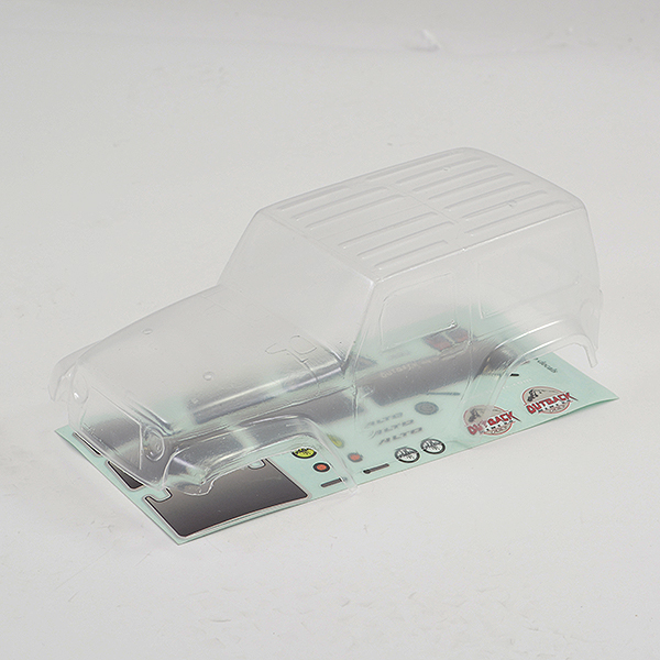 FTX MINI OUTBACK 2.0 ALTO BODY - CLEAR LEXAN