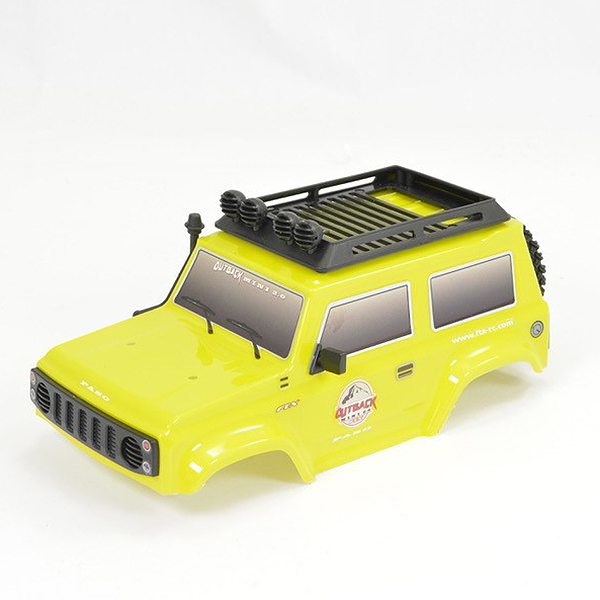 FTX MINI OUTBACK 2.0 PASO BODY YELLOW w/ACCESSORIES