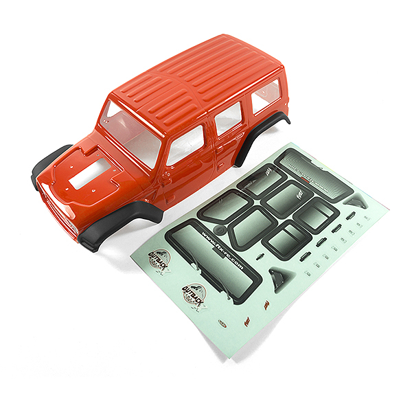 FTX OUTBACK MINI X 2.0 FURY RED BODY