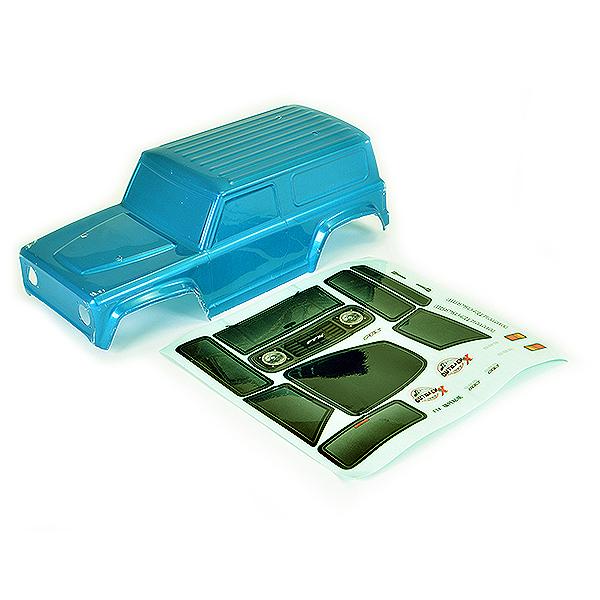FTX OUTBACK MINI X 2.0 CUB PVC BODY - METALLIC CYAN