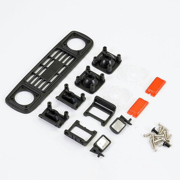 FTX OUTBACK MINI X 2.0 CUB FRONT GRILL & LIGHT MOUNT SET
