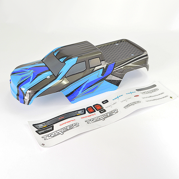 FTX TRACER MONSTER TRUCK BODY & DECAL - BLUE