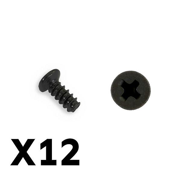 FTX TRACER SET SCREW 2.5*2.5MM