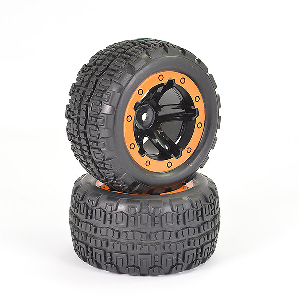 FTX TRACER TRUGGY WHEEL/TYRES COMPLETE (PR)