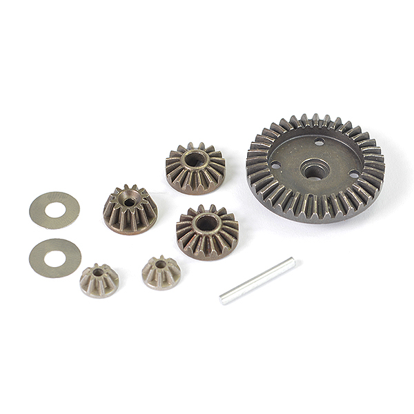 FTX TRACER MACHINED METAL DIFF GEARS, PINIONS, DRIVE GEAR