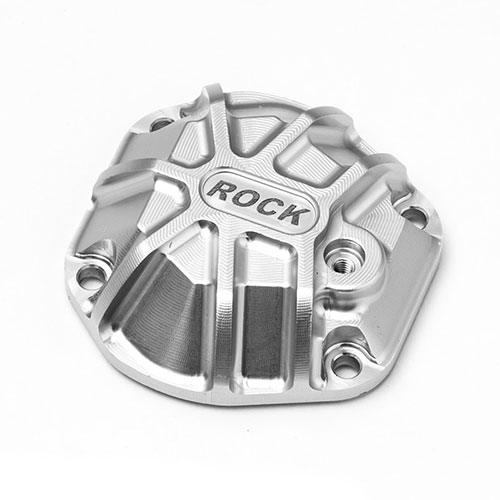 GMADE 3D MACHINED DIFFERENTIAL COVER (SILVER) GS01 AXLE