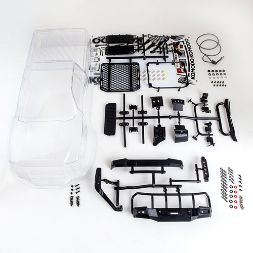 GMADE KOMODO CLEAR BODY SHELL SET