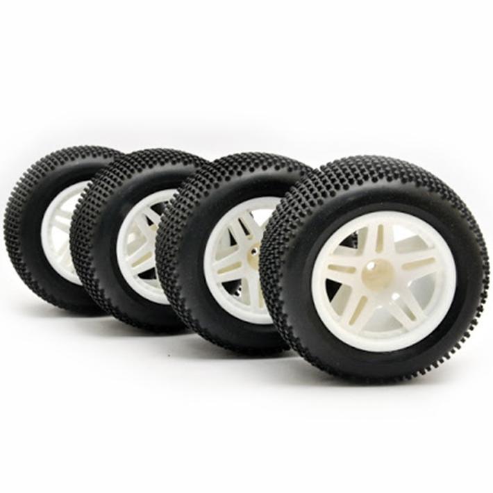 HoBao Hyper Tt Truck Tyres Mounted Wheel (4Pcs)