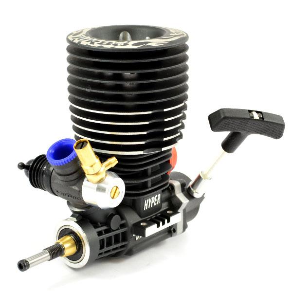 HOBAO HYPER 30  TURBO ENGINE WITH PULLSTART (TURBO PLUG)