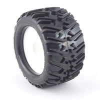 HoBao ST Swoosh Tyres for Maxx Size Truggy - IIR Compound