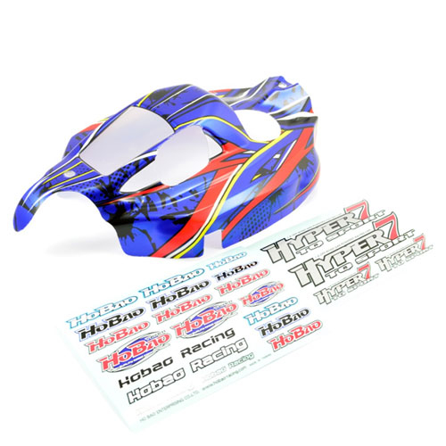 HOBAO HYPER 7 TQ SPORT NEW PRINTED BODY (BLUE)