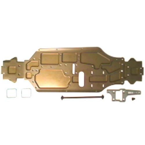HoBao Hyper 9 Cnc 7075 Alum. Chassis Rear +4mm