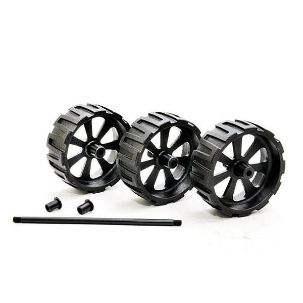 HOBAO HYPER MT SPORT PLUS II WHEELIE BAR WHEELS (3)