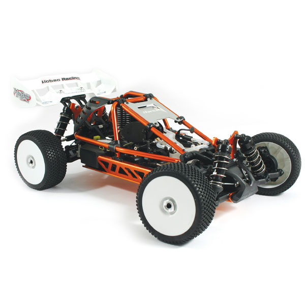HOBAO HYPER CAGE BUGGY RTR w/MACH*28 ENGINE - Orange