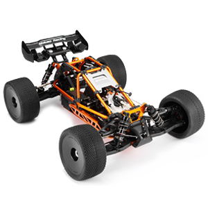 HOBAO HYPER CAGE TRUGGY ORANGE NITRO RTR W/MAC28 6P ENGINE