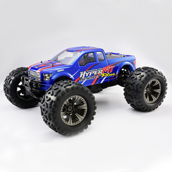 HOBAO HYPER MT SPORT PLUS NITRO RTR with 18KG SERVOS - BLUE