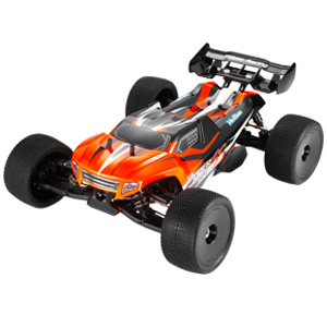 HOBAO HYPER SST 1/8 RTR TRUGGY WITH MACH*28 6-PORT ENGINE, SAVOX, 2.4ghz RADIO