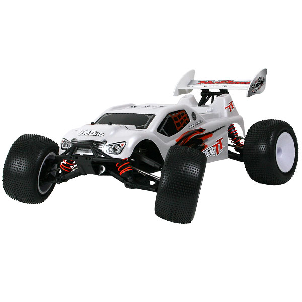HOBAO TT BRUSHLESS RTR TRUGGY TRUCK - WHITE