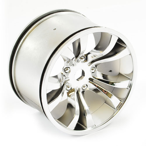HOBAO MT CHROME SILVER WHEEL