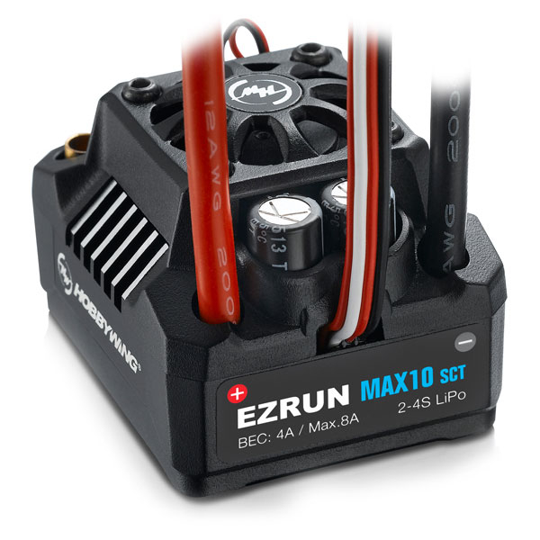 HOBBYWING EZRUN MAX10-SCT WATERPROOF SPEED CONTROLLER