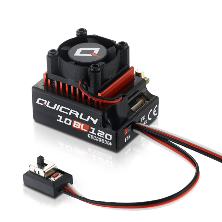 HOBBYWING QUICRUN 10BL120 SENSORED BRUSHLESS ESC (120A)