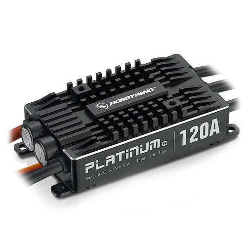 HOBBYWING PLATINUM PRO 120A V4 SPEED CONTROLLER #HW30203401