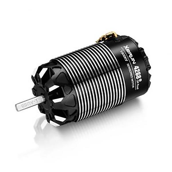 HOBBYWING XERUN 4268SD 1900KV BLACK G3 MOTOR 1/8TH OFF-ROAD