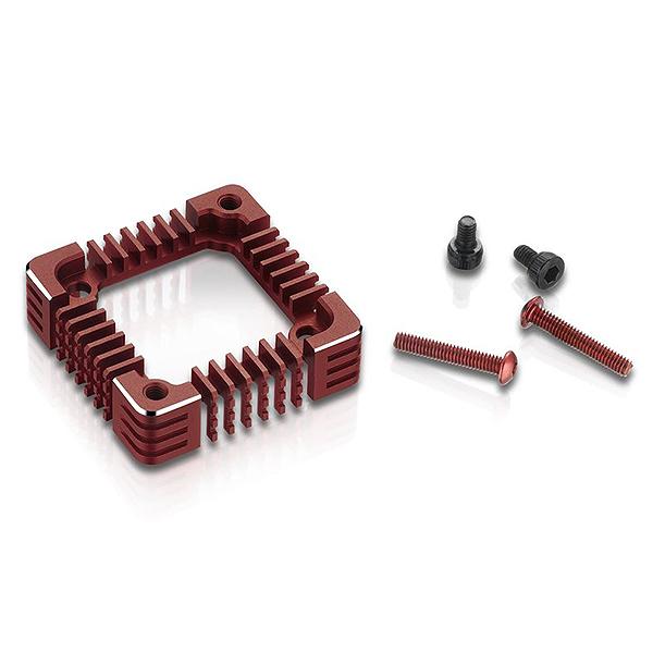 HOBBYWING XERUN 3010 FAN ADAPTER/CASE XR10 PRO G2 RED