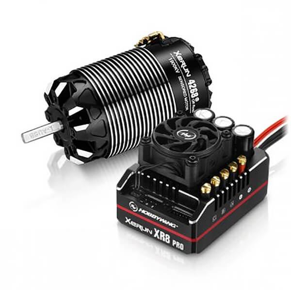 HOBBYWING COMBO XR8 PRO G2 ESC & 4268 G3 OFF 1900KV MOTOR (A)