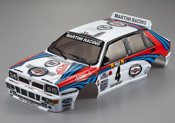 KILLERBODY LANCIA DELTA HF INTEGRALE 190MM FINISHED BODY RAL