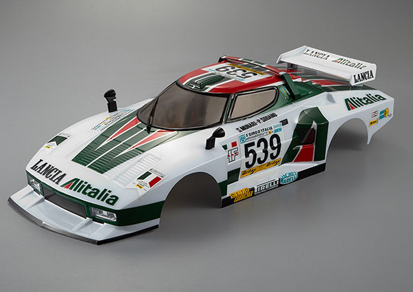KB48250 Killerbody Lancia Stratos (197 7 Giro) Finished Body Rally