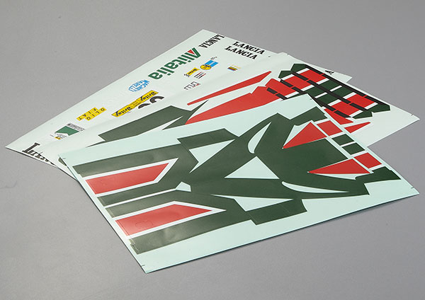 KILLERBODY DECAL SHEET LANCIA STRATOS (1977 GIRO D'ITALIA)