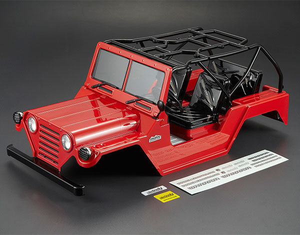 KILLERBODY WARRIOR 1/10 CRAWLER FINISHED RED BODY