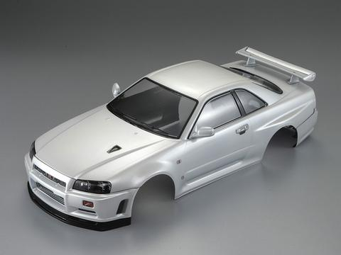 KILLERBODY NISSAN SKYLINE R34 195MM FINISHED BODY-WHITE