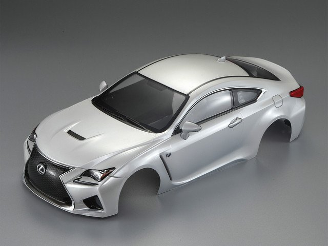 KILLERBODY LEXUS RC F 195MM FINISHED BODY - PEARL WHITE