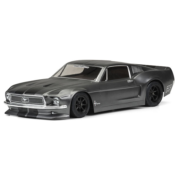 PROTOFORM 1968 FORD MUSTANG VTA 200mm CLEAR BODYSHELL