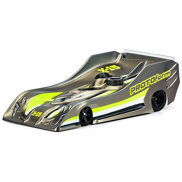 PROTOFORM X15 BODY FOR 1/8TH ON ROAD - PRO-LITE WEIGHT