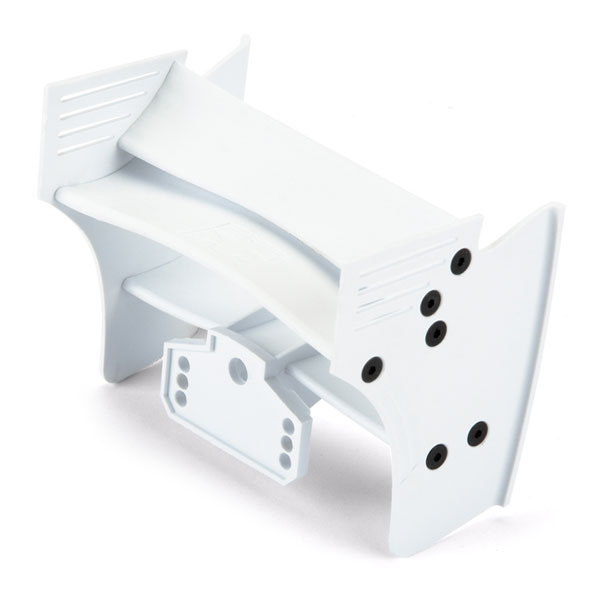 PROTOFORM F1 REAR WING (WHITE) FOR 1/10TH F1 CAR