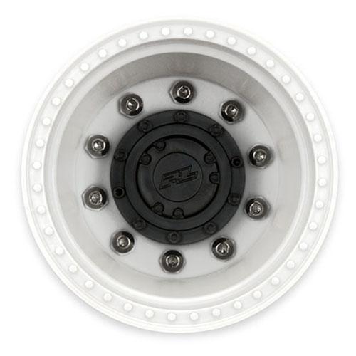 PROLINE BRAWLER CLOD BUSTER 2.6 WHITE WHEELS +17.5 OFFSET