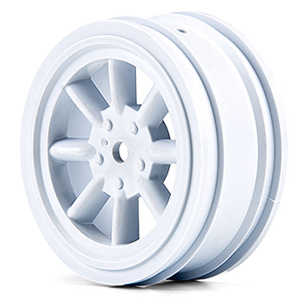 PROTOFORM FRONT WHEELS WHITE (26MM) FOR VTA CLASS