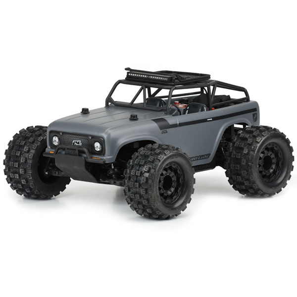 PRO-LINE AMBUSH CLEAR BODY W/ RIDGELINE TRAIL CAGE MT-STAMP