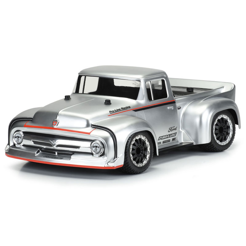 PROLINE 1956 FORD F100 TOURING STREET CLEAR SHELL (2.8 TYRE)