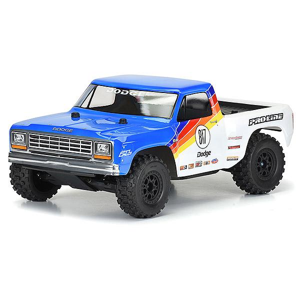 PROLINE 1984 DODGE RAM 1500 RACE SC CLEAR BODY (USE EXT.)