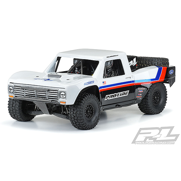 PRO-LINE PRECUT FORD F-100 RACE TRUCK CLEAR BODY FOR UDR