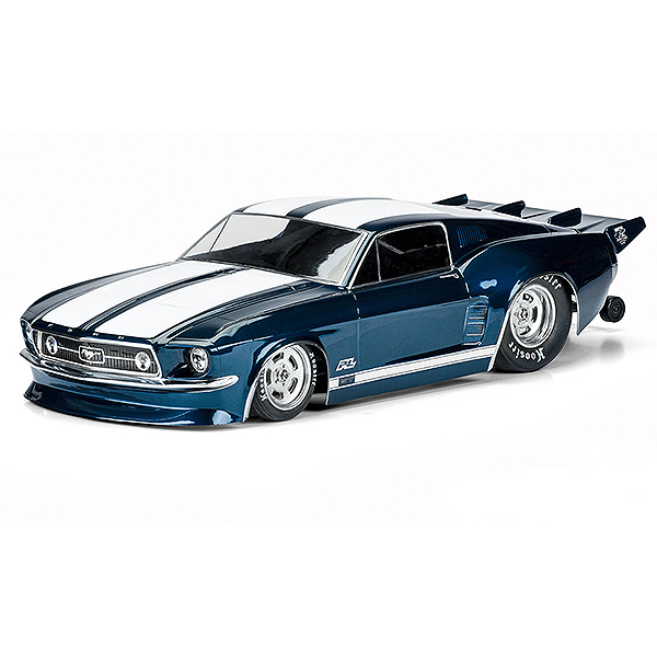 PROLINE 1967 FORD MUSTANG CLEAR DRAG BODY FOR 22S/DR10