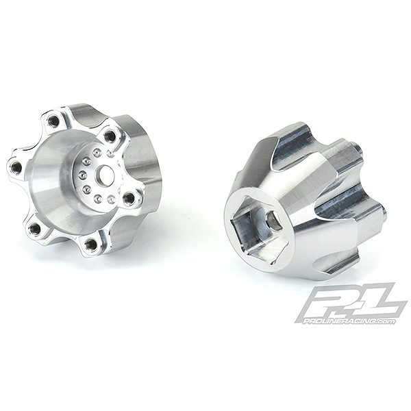 PROLINE 6x30 TO 14MM ALUM. HEX ADAPTERS (NARROW) FOR PL WHEEL