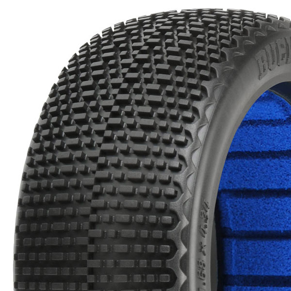 PROLINE 'BUCK SHOT' M4 S-S 1/8 BUGGY TYRES W/CLOSED CELL