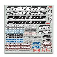 Pro-Line Team Decal (B&W)