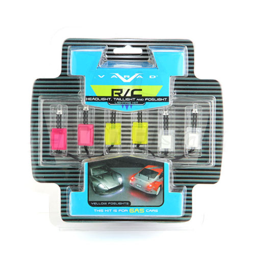 RC Neon Head/Brake & Yellow Fog Light Kit Nitro